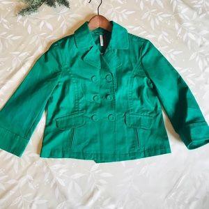 NWOT Old Navy Green Jacket